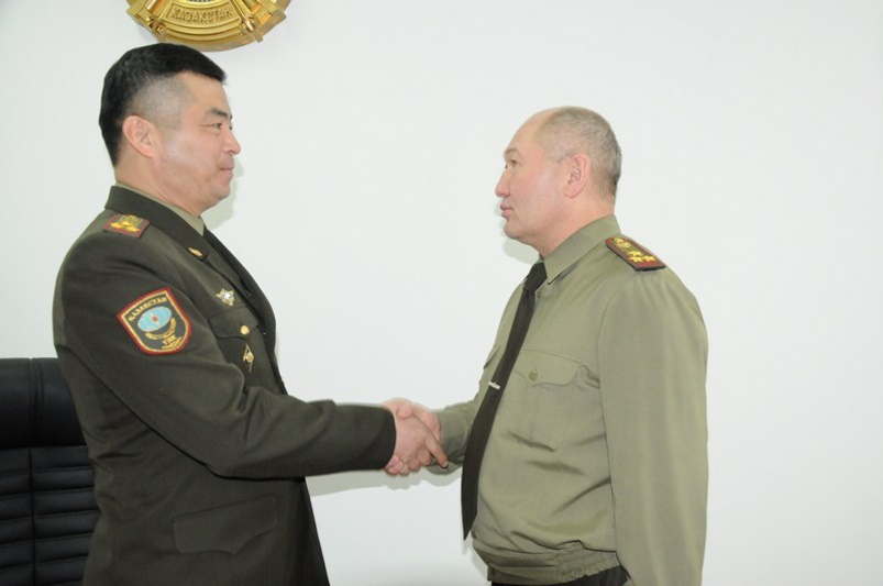 В Астане назначен новый начальник службы пожаротушения