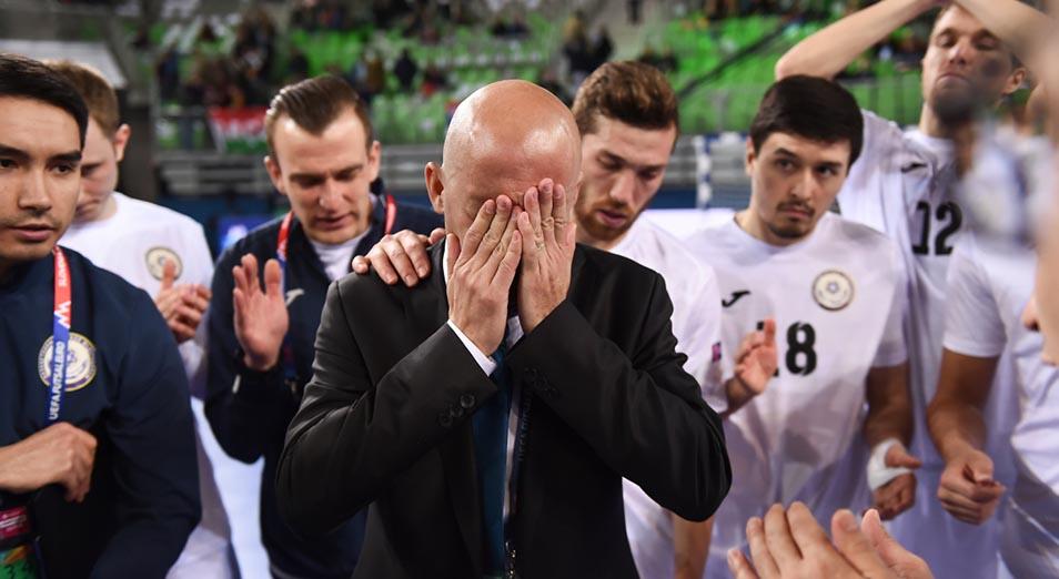 Казахстан уступил бронзу России на футзальном Евро