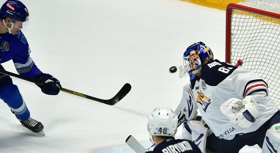 КХЛ: «Барыс» не догнал «Магнитку»