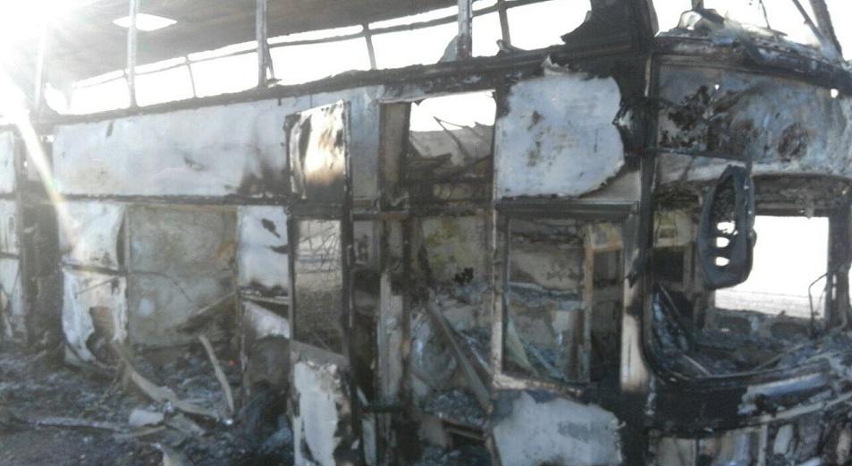 Сгоревший автобус не имел лицензии на перевозки