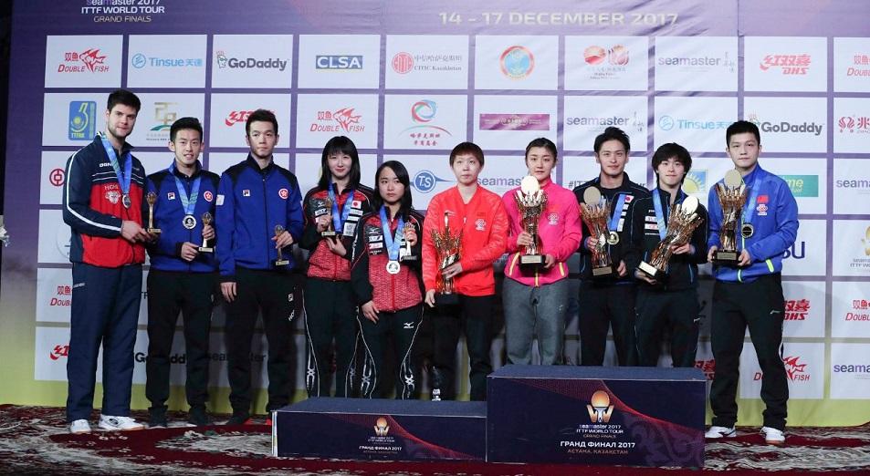 World Tour Grand Finals в Астане увенчался дублем Чэнь Мэн