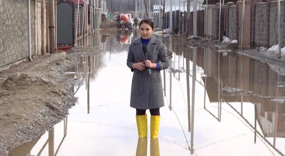 Пять поселков в Алматинской области оказались под водой
