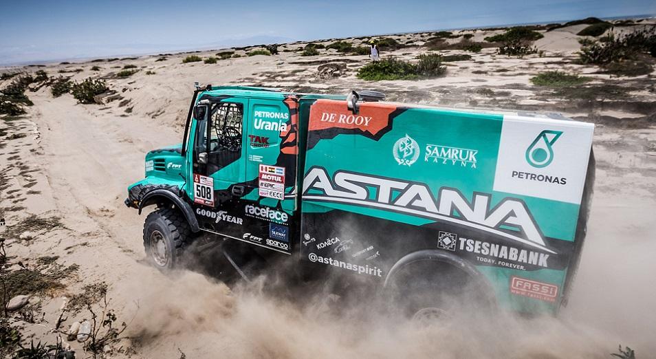 «Дакар-2018»: Astana Motorsports сохранила Антимирова