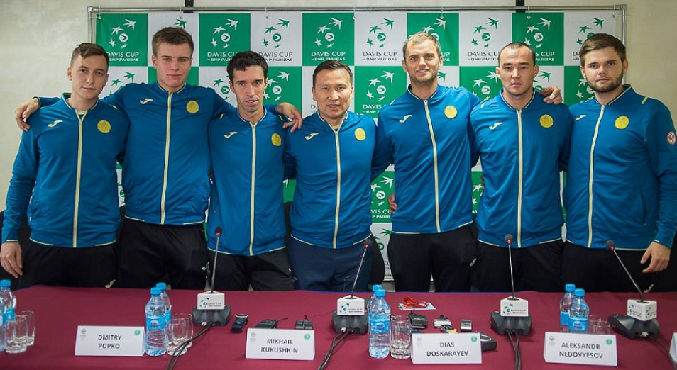 Казахстан в пятый раз стал четвертьфиналистом Davis cup