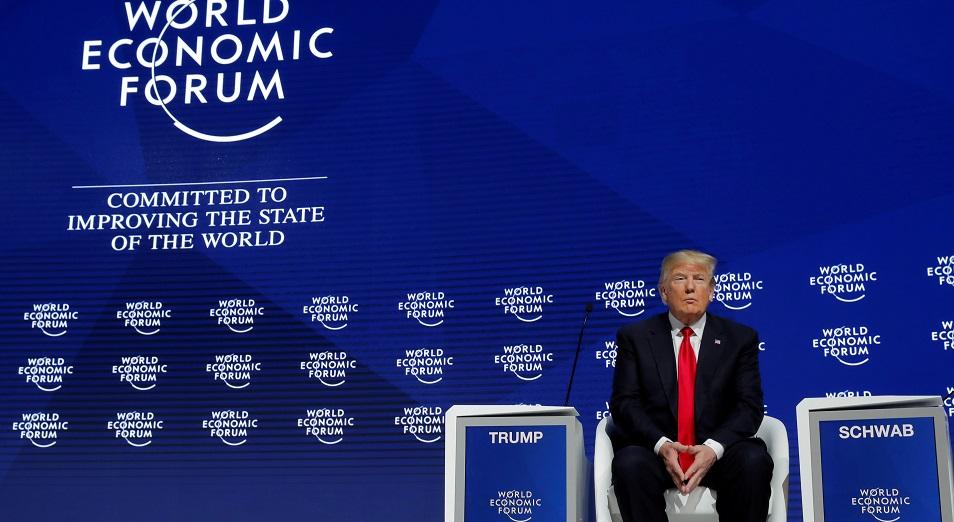 «Никогда еще не было лучшего времени, чтобы производить и инвестировать в США», Инвестиции, США , Дональд Трамп, Давос