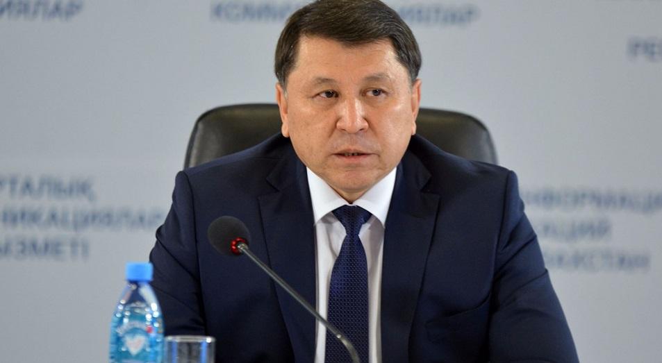 Жандарбек Бекшин: «Со следующего года мы намерены ужесточить контроль за фальсификатом»