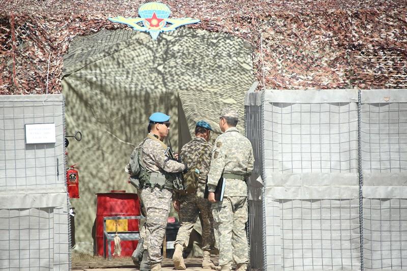 В Сухопутных войсках прошло двустороннее командно-штабное учение