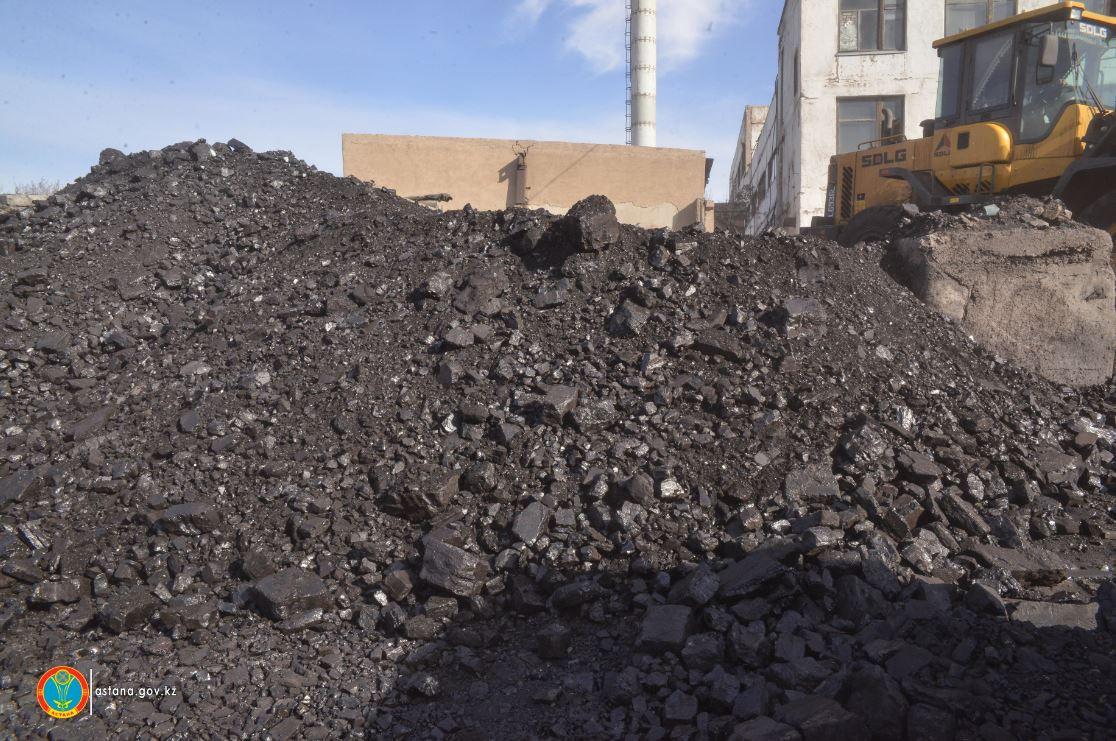 В Астану за три дня поступило более 5000 тонн угля, Астана, Уголь, акимат