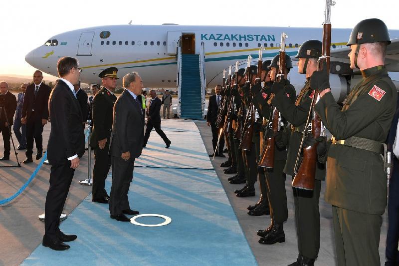 Нурсултан Назарбаев прибыл в Турцию с официальным визитом