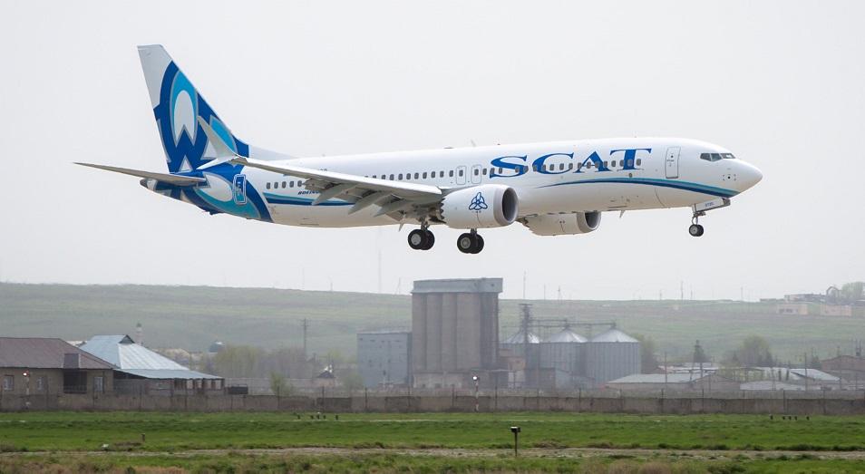 Новый самолет обошелся SCAT в 115 млн долларов , самолет, SCAT, Авиакомпания, Шымкент, Боинг 737 Макс 8