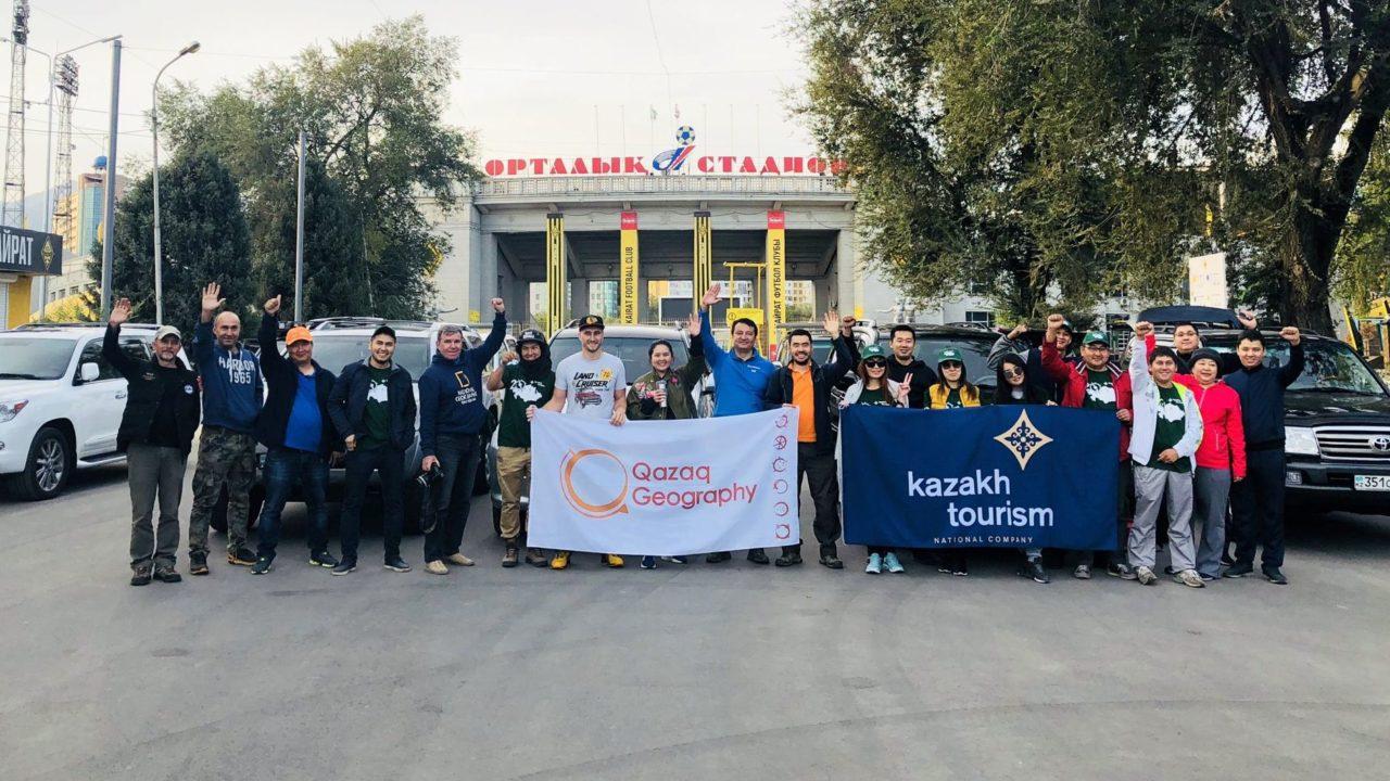 Экспедиция «Новый Шелковый путь» прибыла в Алматы, экспедиция, Новый Шелковый путь, Алматы
