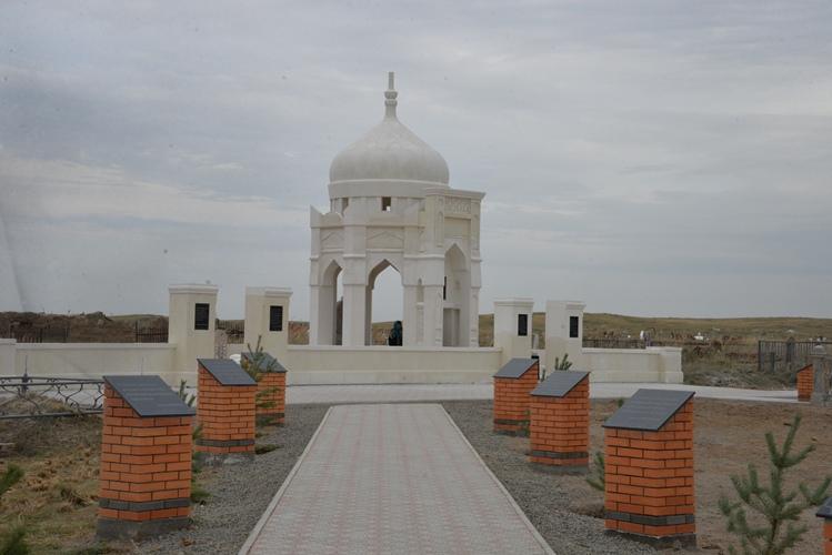 В Павлодарской области открыли мавзолей Мусы Шорманова, Павлодарская область, Мавзолей, Муса Шорманов