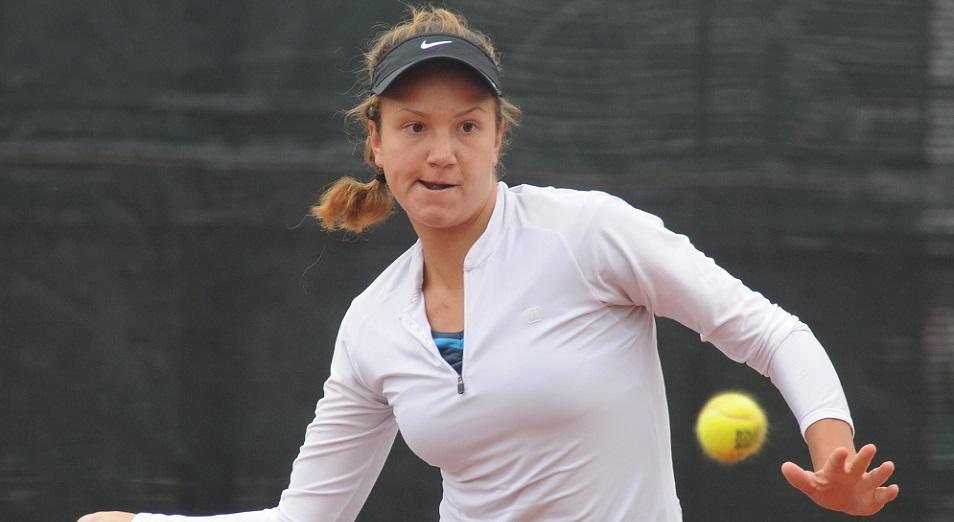 Данилина принесла Казахстану шестой титул Кубка президента по теннису