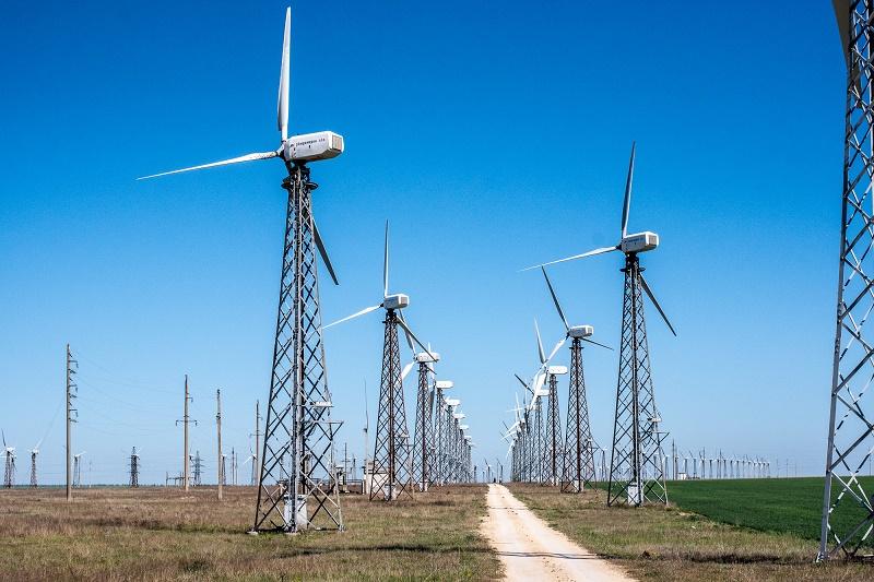 Торжественная закладка первого камня ветроэлектростанции прошла в Мангистау, Закладка камня, Ветроэлектростанция, строительство, Мангистау