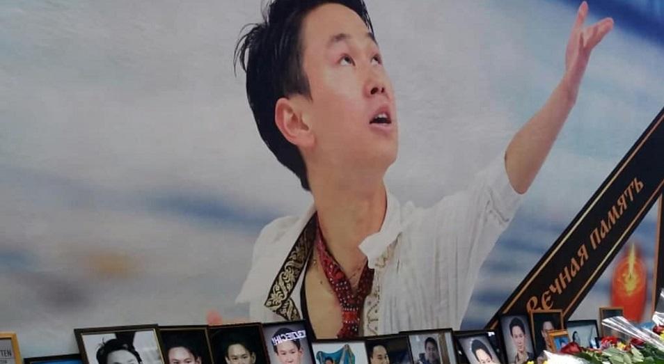 В Казахстане прощаются с Денисом Теном , Казахстан, Денис Тен, Спорт, Панихида, Убийство, Астана, Алматы