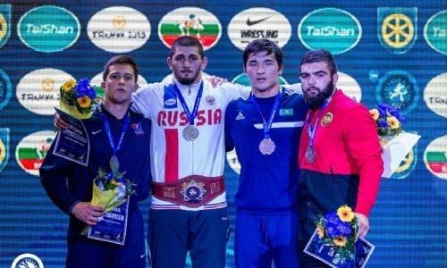 Казахстанец завоевал «бронзу» чемпионата мира среди юниоров в Словакии, Серик Бахытханов, Чемпионат мира, Юниор, Словакия