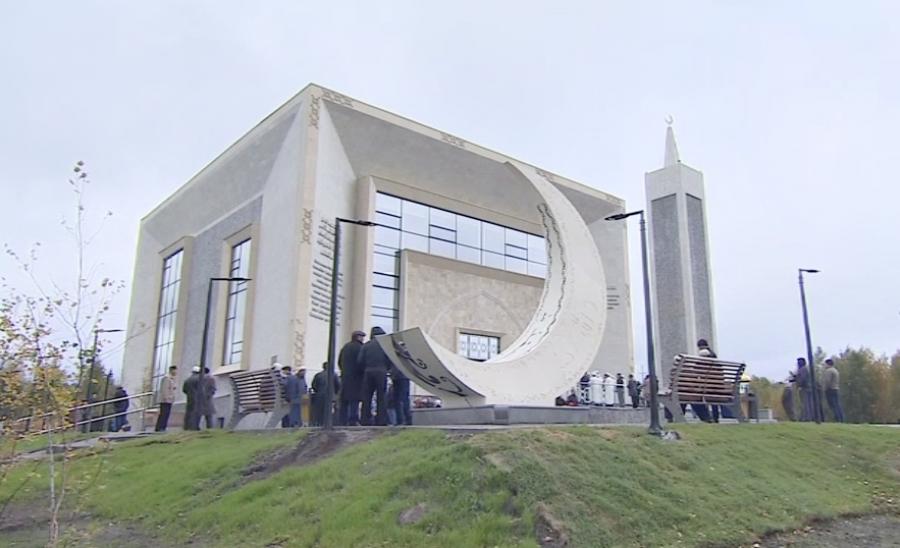 В Боровом открыли новую мечеть, Боровое, Мечеть