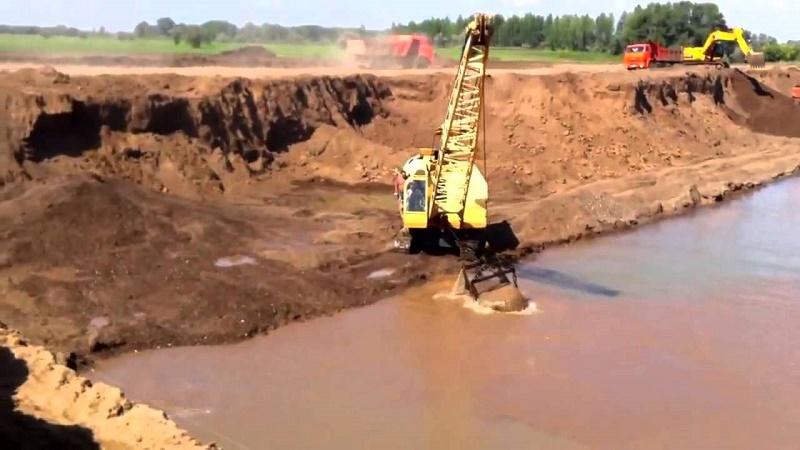 На 1,8 млн тенге оштрафованы в ВКО незаконные добытчики песка и гравия