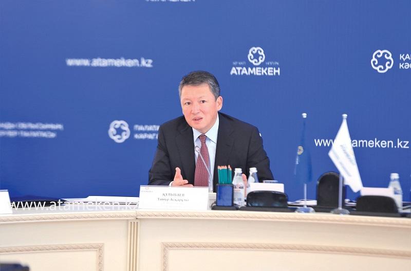 Тимур Кулибаев: «Предприниматель в судах должен находить защиту и справедливое решение»
