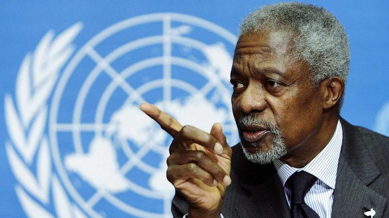Кофи Аннан – уникальная личность в истории ООН – глава МИД РК