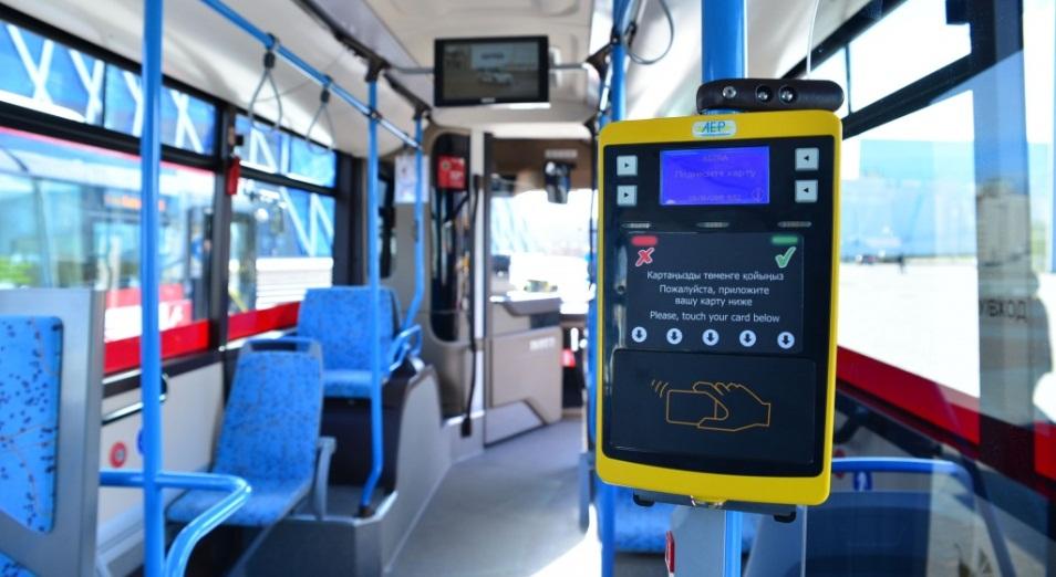 За две недели введения дифтарифа удалось вывести из теневого оборота 15% доходов, Пассажирские перевозки, Перевозки, Общественный транспорт, Астана LRT, Bus lane, Автобусы