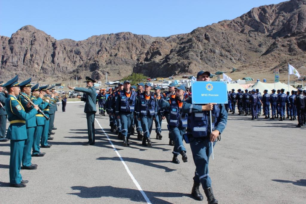 Спасатели стран ОДКБ отработали взаимодействие при ликвидации ЧС на учении в Казахстане