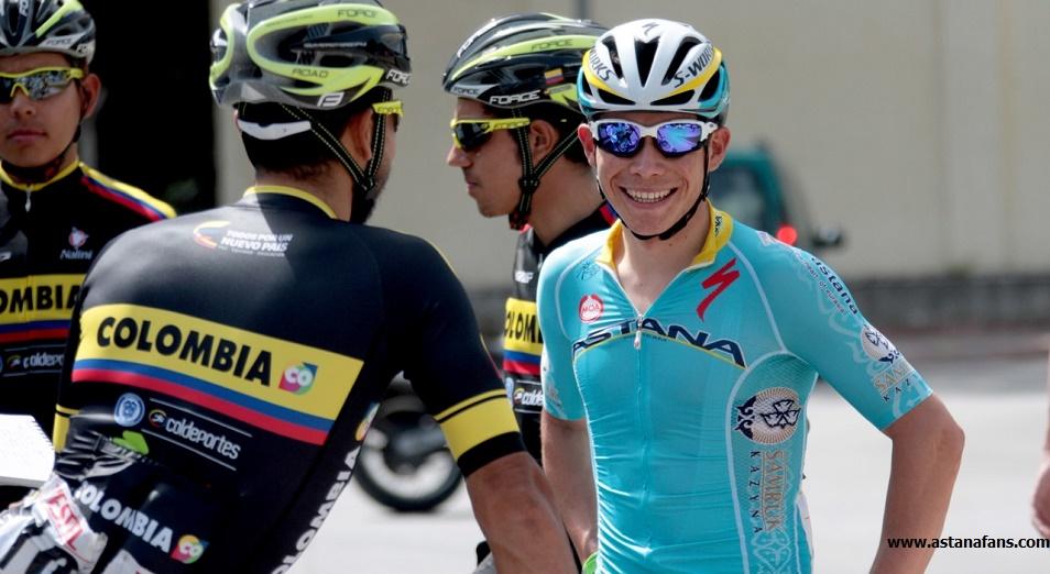 Лопес: пятый пьедестал для Astana Pro Team в многодневках нынешнего сезона, Мигель Лопес, AstanaProTeam, Велоспорт, Велогонщик, Джиро д'Италия, Астана, Велоклуб, Иван Соса