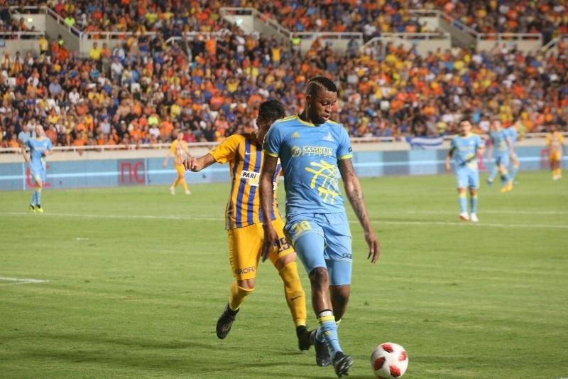 «Астана» проиграла кипрскому АПОЭЛу в матче плей-офф Лиги Европы
