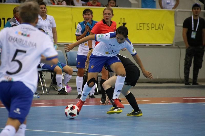 Cборная Казахстана по футзалу одержала вторую победу на студенческом чемпионате мира