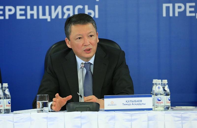 Тимур Кулибаев: «Необходимо разработать алгоритм активной промышленной политики»