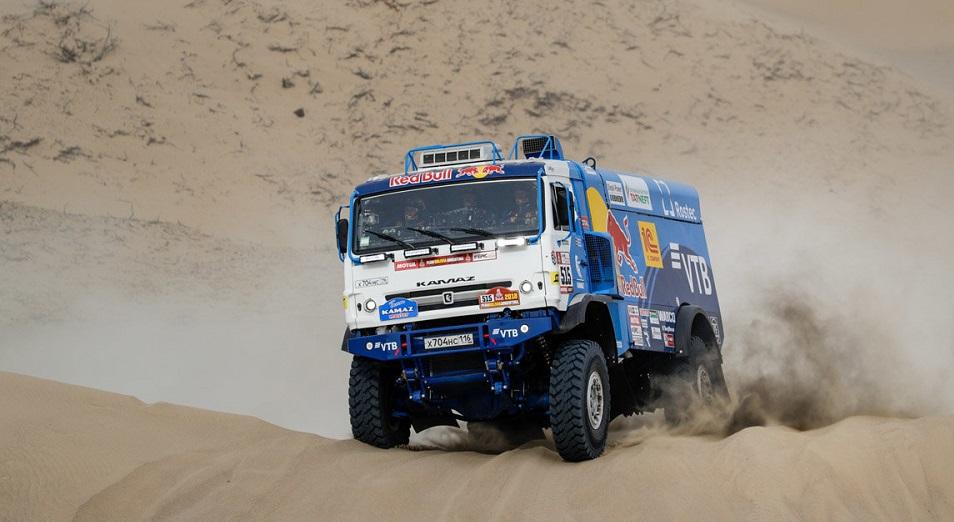 Astana Motorsports на «Дакаре»: тише едешь – выше будешь