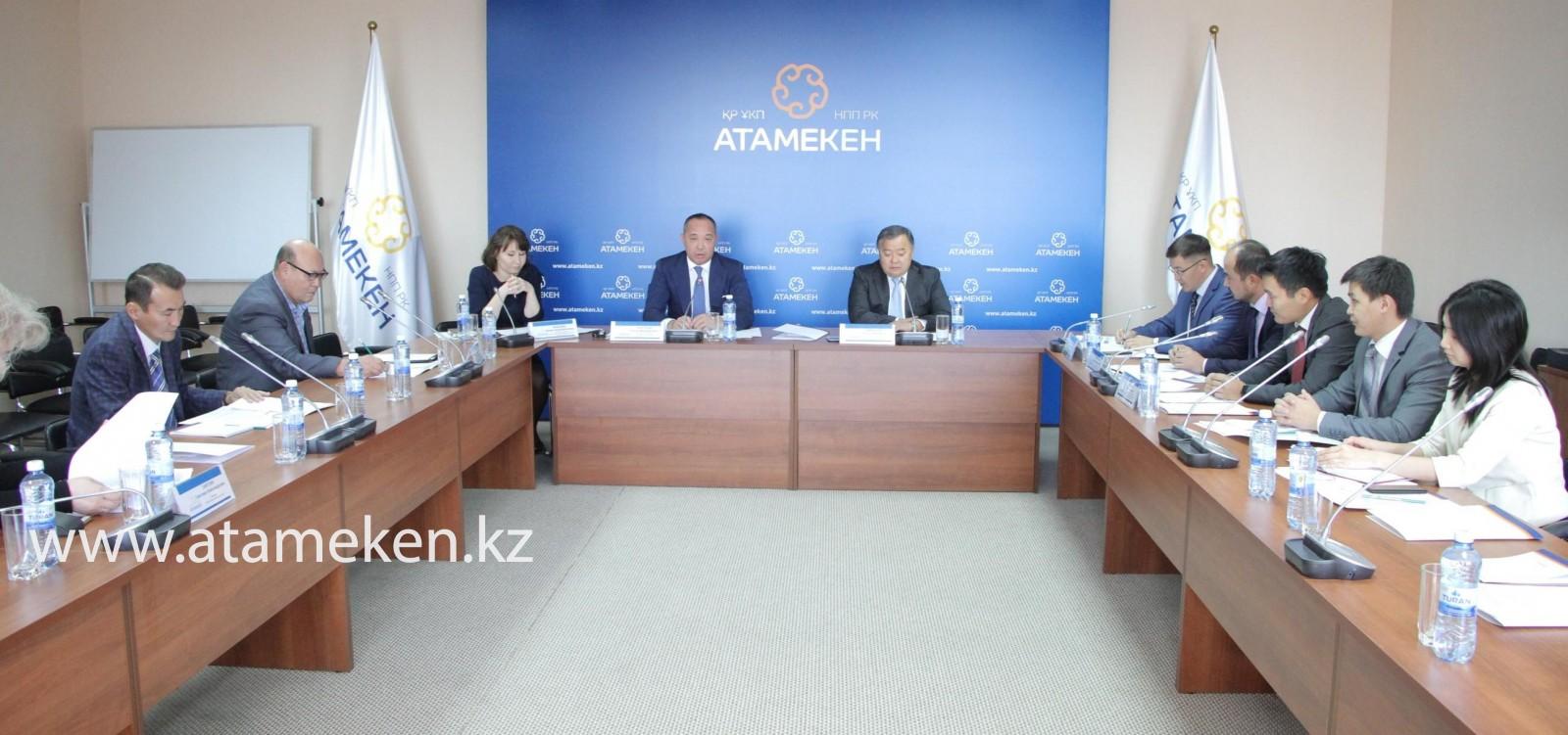 Комитет «Атамекена» выведет на новый уровень систему саморегулирования ,  НПП РК «Атамекен»