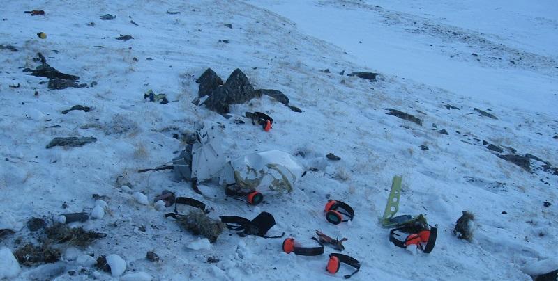 В Красноярском крае разбился вертолет
