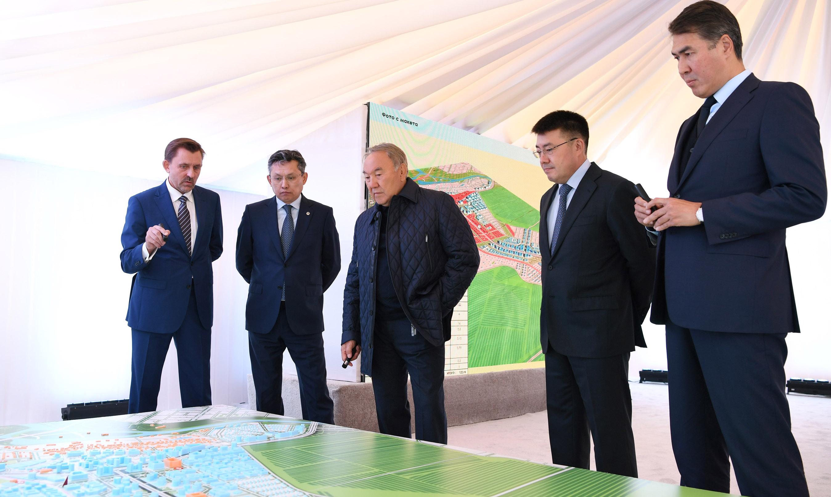 Президент РК указал на необходимость комплексного подхода при застройке Астаны, Президент РК, Назарбаев, Астана