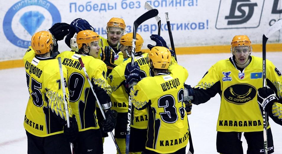 ВХЛ: «Сарыарка» выключила «Сокол» из борьбы за первую тройку
