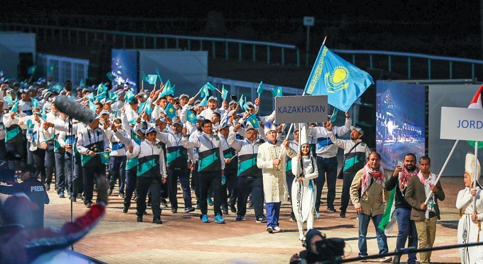 Казахстан установил собственный рекорд по золоту на Всемирных играх кочевников, Всемирные игры кочевников, Спорт, ВИК, Медаль