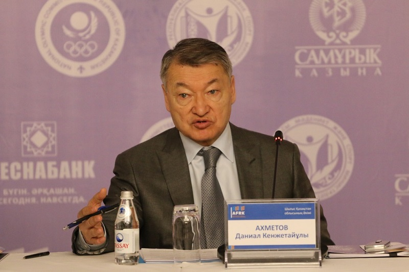 Даниал Ахметов избран президентом Федерации легкой атлетики Казахстана
