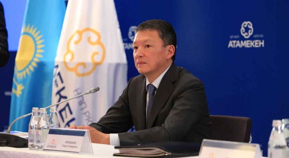 Тимур Кулибаев: «Ситуация изменилась, и это главное»