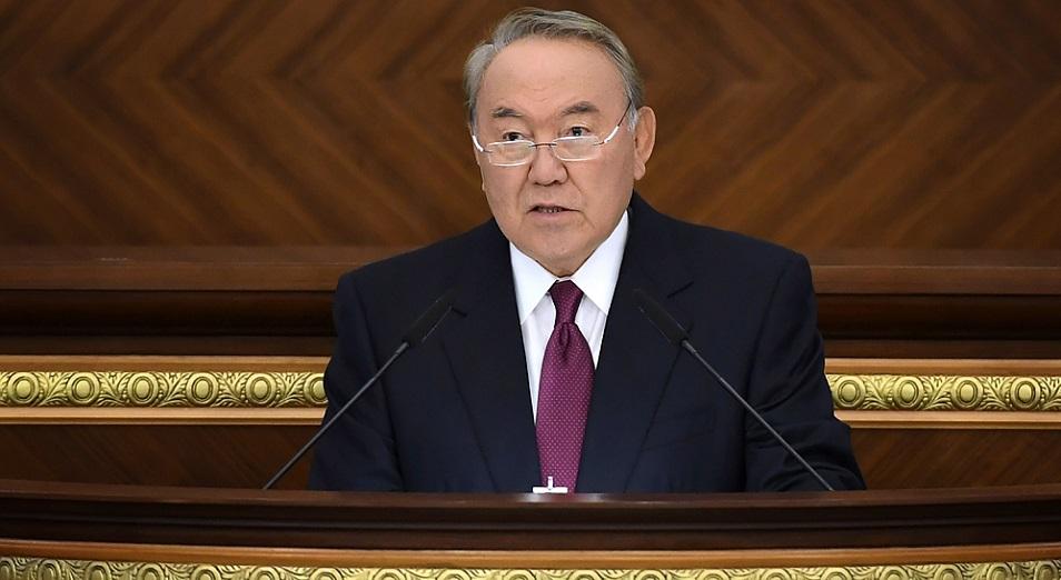 Президент РК: «Нам предстоят решительные меры»  , Президент РК, Нурсултан Назарбаев, Парламент, политика, экономика
