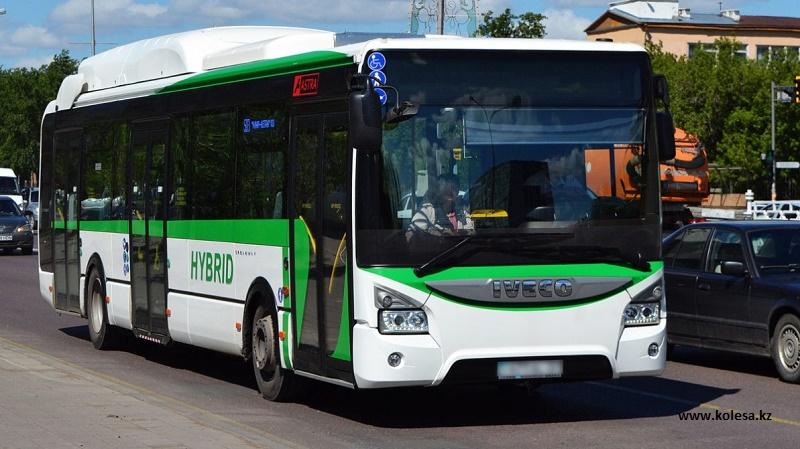 До 400 тыс. тенге могут получать водители автобусов в Астане
