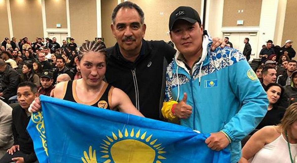 «GGG среди женщин» выиграла пояс WBF , Пояс WBF, Спорт, Бокс, Аида Сатыбалдинова