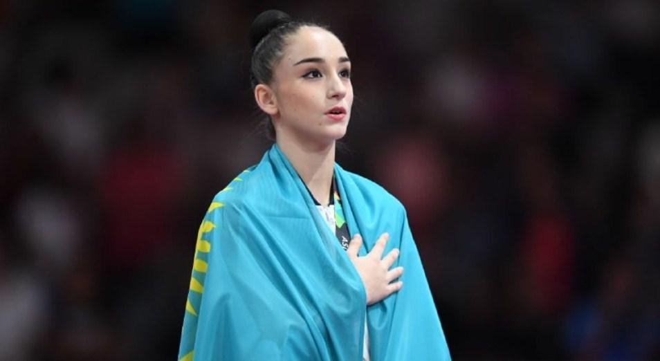 Алина Әділханова – Азия ойындарының екі дүркін чемпионы, Джакарта, Азия ойындары, Алина Әділханова , алтын медаль, көркем гимнастика