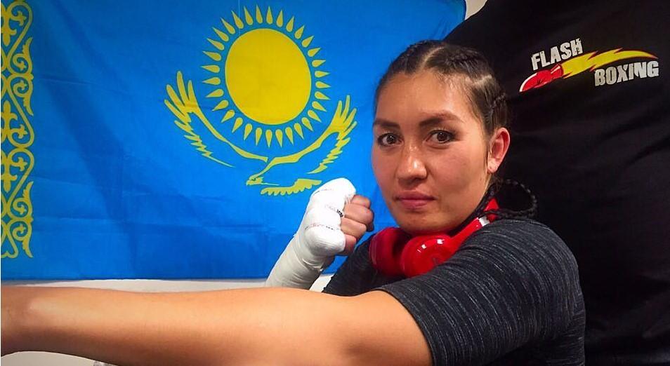 GGG среди женщин побывала в нокауте, Бокс, Аида Сатыбалдинова, Нокаут