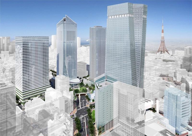 Небоскреб в Токио высотой 330 м намерены построить к 2023 году