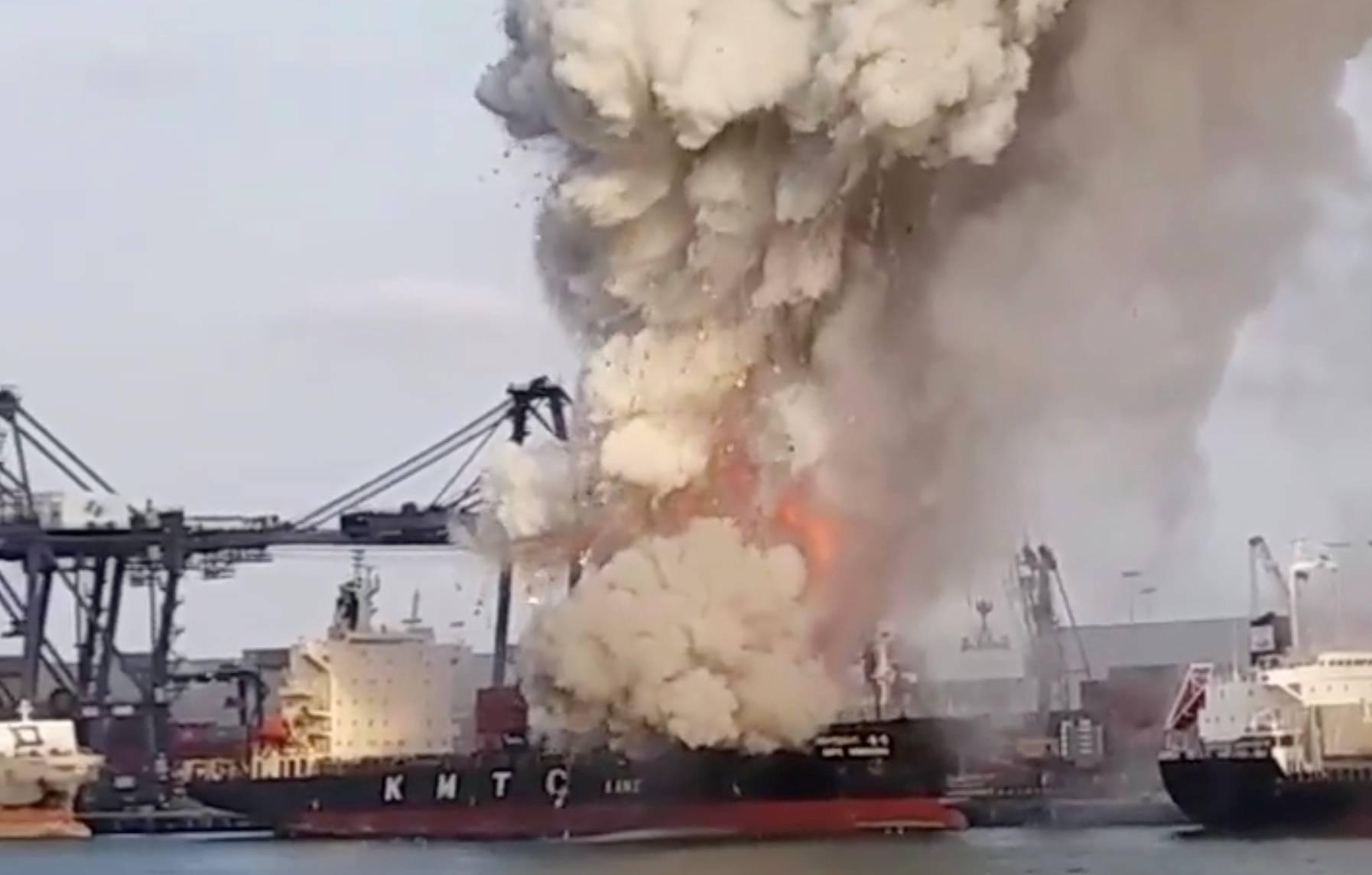 В Таиланде 50 человек пострадали при взрыве в порту Лаем Чабанг