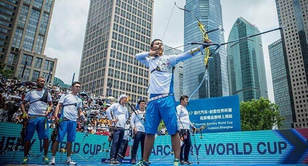 Казахстанские лучники завоевали олимпийскую лицензию в Токио, Казахстан, Лучник, Олимпиада, Токио