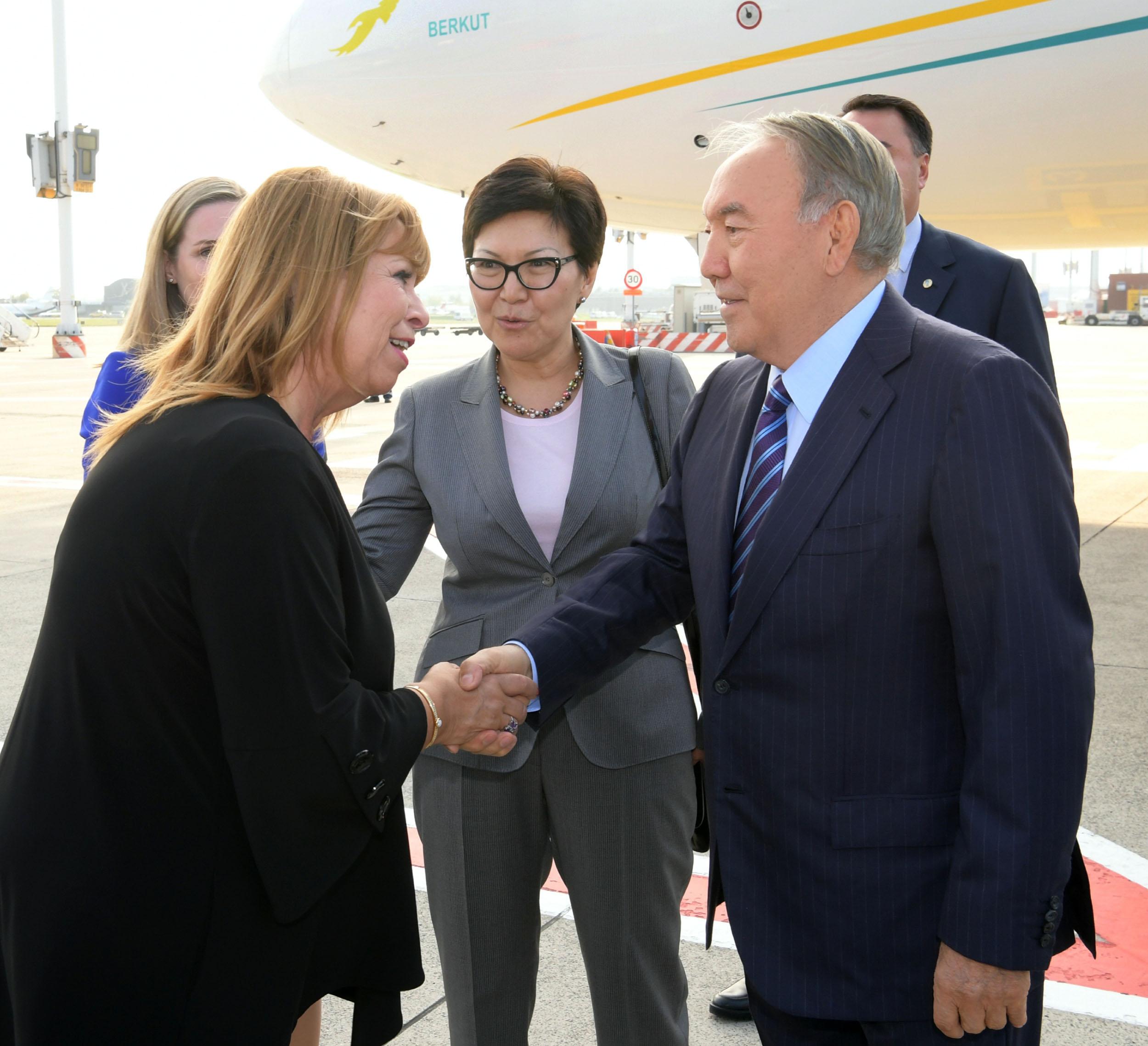 Нурсултан Назарбаев прибыл с визитом в Бельгию