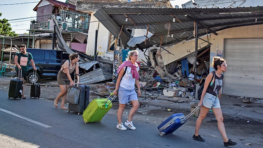 В Индонезии произошло землетрясение магнитудой 7,3