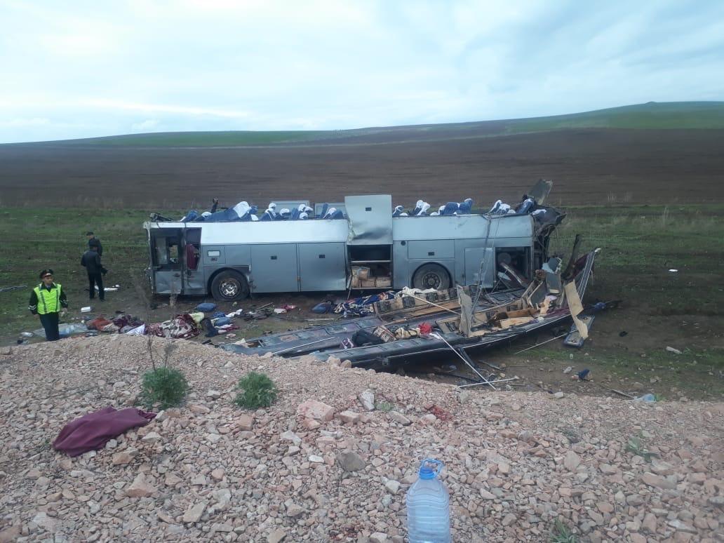 Среди жертв ДТП в Жамбылской области семеро казахстанцев и трое граждан Узбекистана