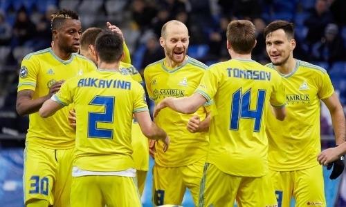 ФК «Астана» стал единоличным лидером КПЛ